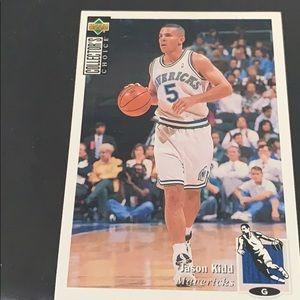 Jason Kidd basketball card